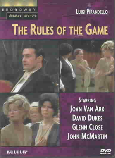 RULES OF THE GAME BY PIRANDELLO,LUIGI (DVD)